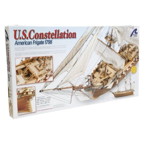 US CONSTELLATION american frégate 1798