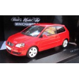 VOLKSWAGEN POLO - 2005 - RED