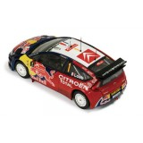 CITROEN C4 WRC 1 RED BULL JAPAN 2008 LOEB ELENA
