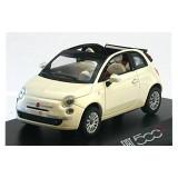 Fiat 500c 2009 pearl white