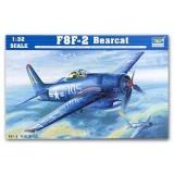 Trumpeter 02248 F8F-2 Bearcat 1/32