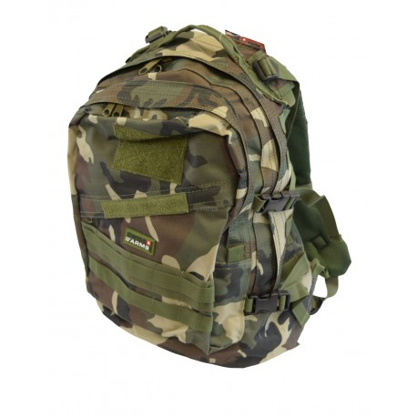 SAC A DOS 3 JOURS CAMO WOODLAND CENTRE EUROPE SWISS ARMS