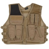 GILET VESTE ASG TAN MULTI-POCHES HOLSTER STRIKE SYSTEMS