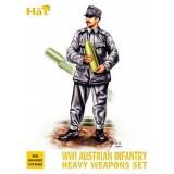HaT 8081 1/72 Austrian Infantry Heavy Weapons WWI HäT