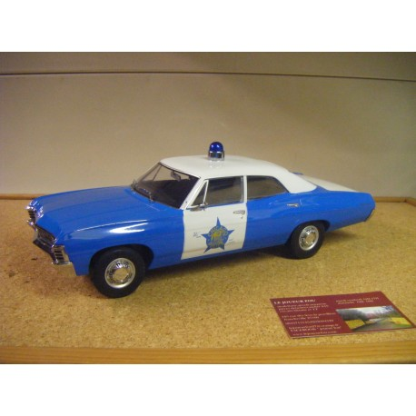 chevrolet biscayne 1967 police CHICAGO green19009