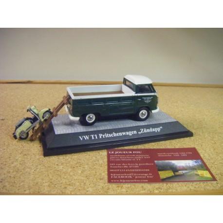 VW T1 plateau avec zundapp bella PREMIUM 13901