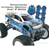 STICKER INT WICKEDNESS 2700XR002
