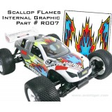 STICKER INT SCALLOP FLAMES 2700XR007