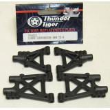 PD0823 Triangles inférieurs AV/AR pour TS2 TS4 Thunder Tiger
