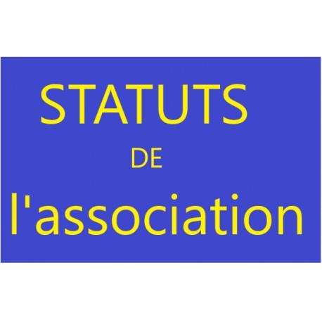 STATUTS de l'association
