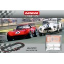 Coffret Circuit Carrera Evolution Racing Legends 1/24