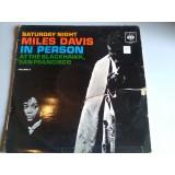 MILES DAVIS IN PERSON
