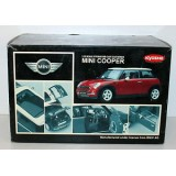 MINI COOPER (GREEN) ref 08553G KYOSHO miniature 1/18