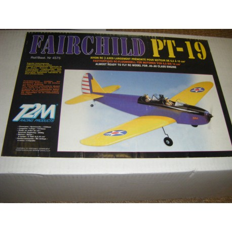FAIRCHILD PT-19 de 1550 mm